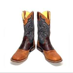 MENS ROCKY HandHewn- square toe western boots